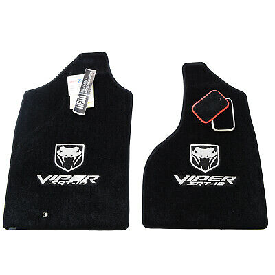 2004-2006 Dodge Ram Viper TRUCK 1500 Floor Mats SRT-10 Viper Fangs In STock