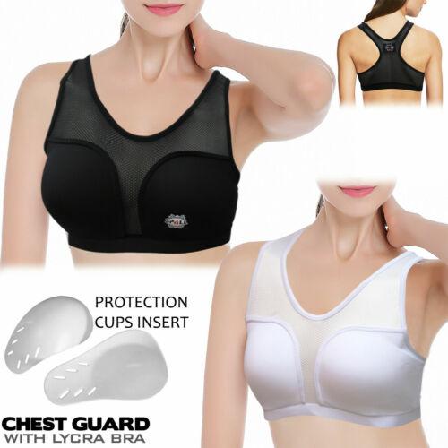 Women Sports Bra Chest Protector Guard Sports Bra for Karate,Taekwondo,mma boxin