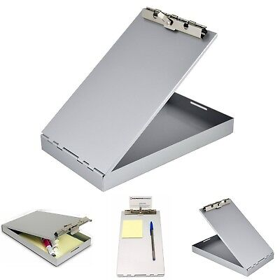 Aluminum Redi Rite Storage Clipboard Form Holder Self Locking Document Organizer