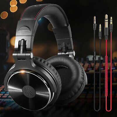 OneOdio Adapter-free Closed Back Over-Ear Wired Headphone Studio Pro-10 Black