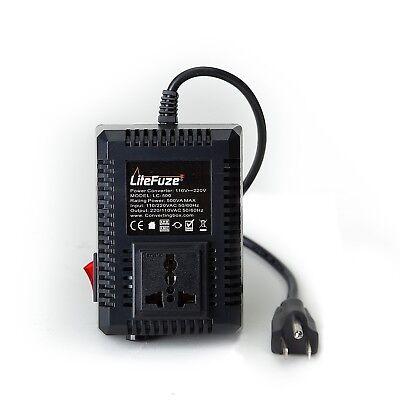 500w Voltage Converter - 500 W Watt Good Heavy Duty Step Up Down 110 - 220 Voltage Converter Transformer
