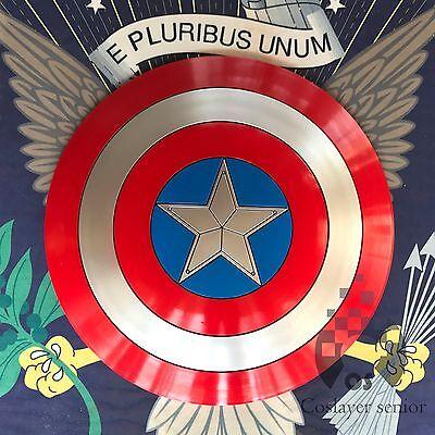 Captain America Shield 1:1  ABS Shield 57cm Cosplay Halloween gift props](Captain Americas Shield)