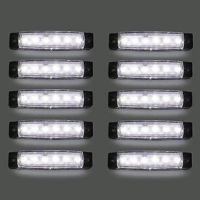 Set 10x 12V 6 SMD LED Umrißleuchte Positionsleuchten Begrenzungsleuchten LKW PKW
