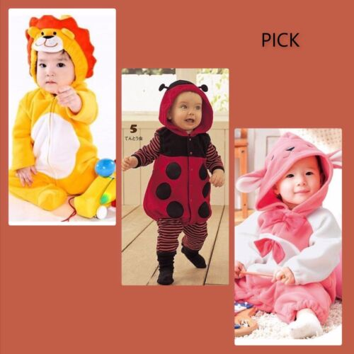 NWT baby toddler girl boy costume outfit lion bunny ladybug 3 6 12 months PICK
