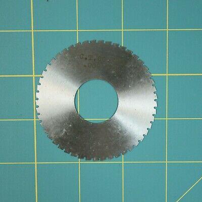 1one Slitting Slotting Saw Blade 0.009 X 2-34 Hss Machinist Cutting Tool