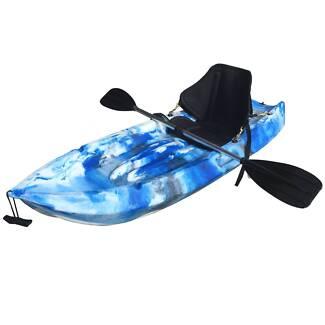 Nelson bay kayak 1.8M kids kayak with alloy paddle seat leash