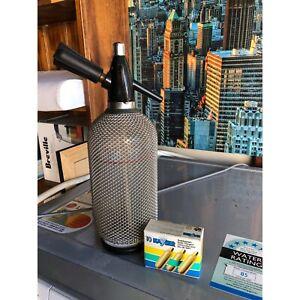 Antique Soda bottle with gas Cartridges Winston Hills Parramatta Area Preview