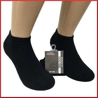 Fantasmini in caldo cotone da uomo donna 6 PAIA di calzini calze fantasmino
