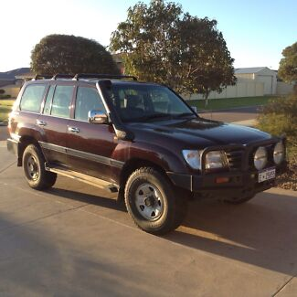 2004 100 Series Toyota Landcruiser HDJ100R 5 speed manual Castletown Esperance Area Preview