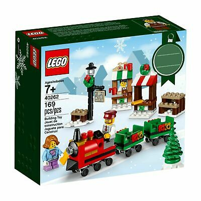 LEGO Christmas Train Ride 40262 Holiday Seasonal Set 169 Pcs 7+ Yrs New Sealed