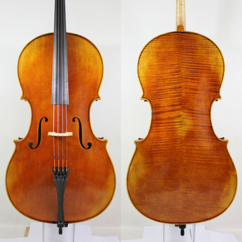 Antonio Stradivarius 4/4 Cello Copy Deep Mellow All European Wood M6458