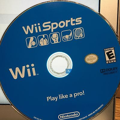 Wii Sports (Nintendo Wii, 2006) Tested & Working Great!