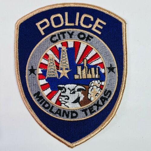 Midland Police Midland County Texas TX Patch A5B