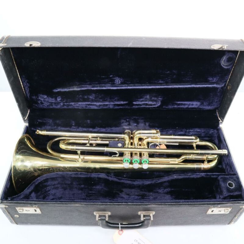 Elkhart Conn 4B Professional Bass Trumpet SN 949278 EXTREMELY RARE!