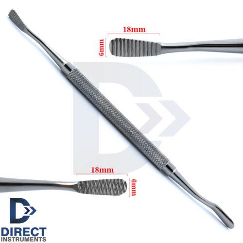 Dental Bone File Miller Filler Cross-Cut-Straight Shaping Surgical Instrument CE