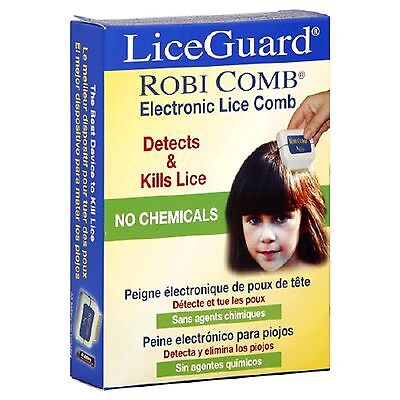 Comb Liceguard Head Fine Eggs Metal Nit Detection Removal (Electronic Lice)