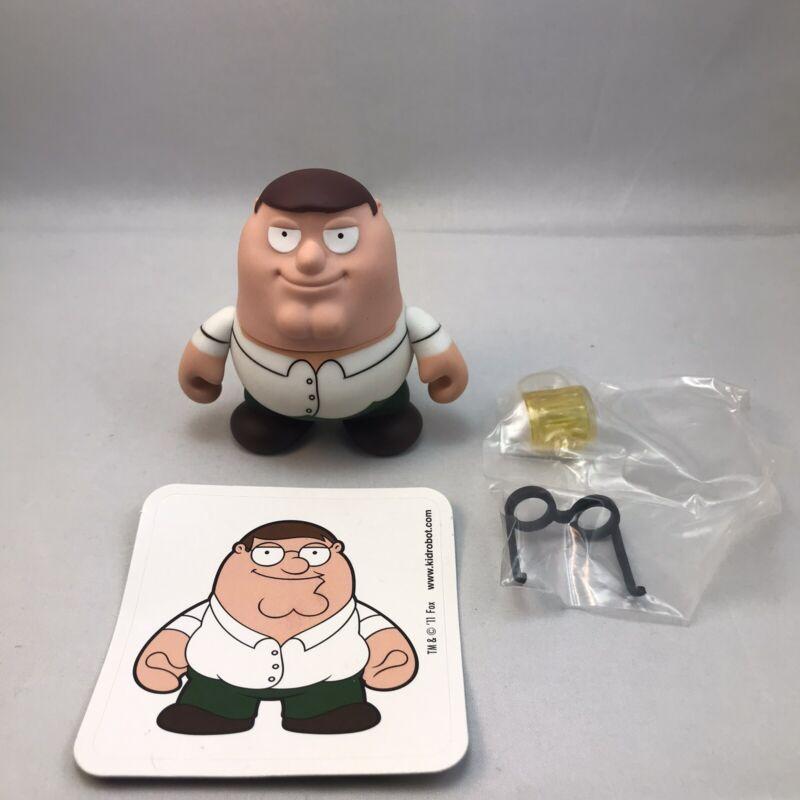 """Family Guy Peter FGKR Kidrobot 3"""" Vinyl Figure   Unboxed but New   Ships Free"""