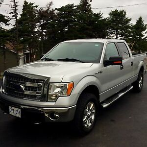 2013 Ford F150 XLT 4x4 Crew Cab Pickup 6.2L engine V8