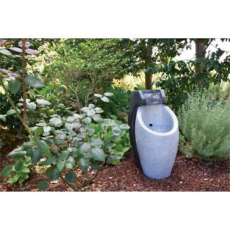 Outdoor Lightweight Water Feature As new SOLD PENDING P/UP