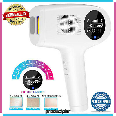 Best Laser Permanent Hair Removal Machine System Painless Face Body 500,000