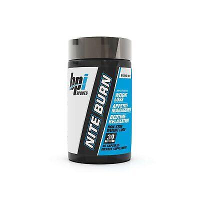 BPI Sports Nite Burn Nighttime Weight Management Formula, 64
