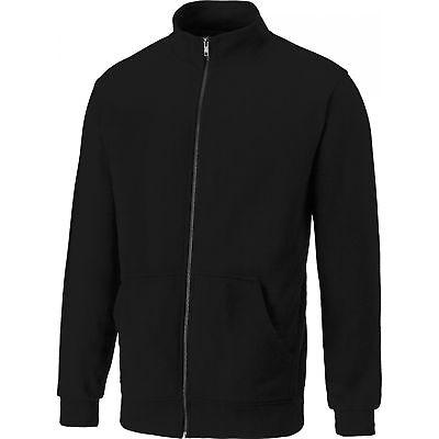 Dickies Edgewood Zip Jacke Sweatjacke SH11301 Schwarz SONDERANGEBOT Schwarze Zip-jacke