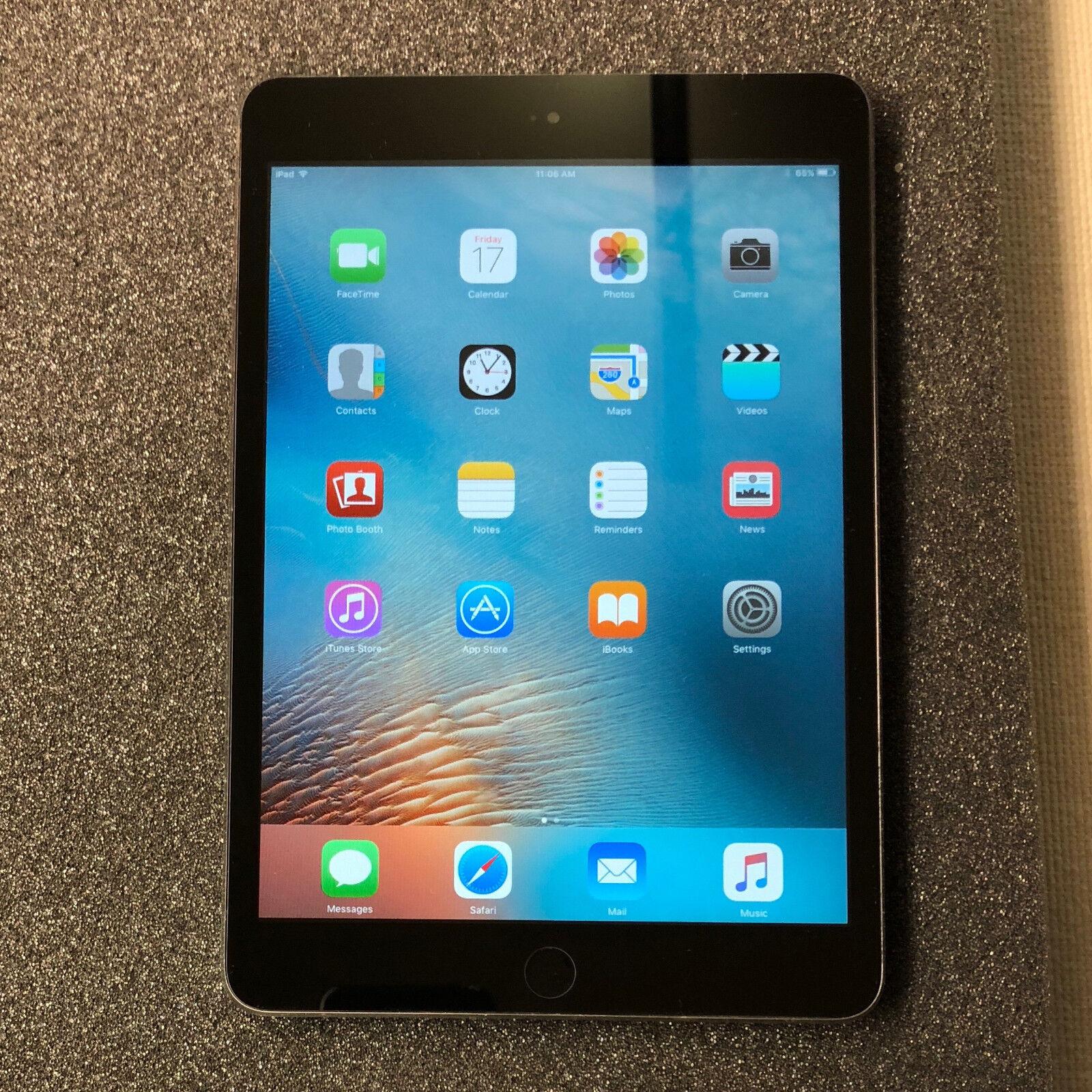 Ipad Mini - Apple iPad mini 1st Generation 16GB, Wi-Fi, 7.9in - Space Gray