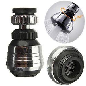 Kitchen Tap Faucet Aerator 360° Swivel Adjustable Nozzle