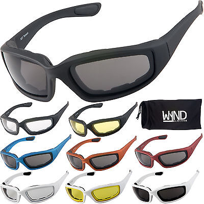 WYND Blocker Motorcycle Riding Glasses & Water Sports Fishing Boating (Water Sports Fishing Boat)