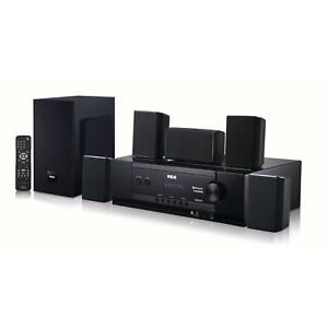 RCA Bluetooth Home Theater System Surround Sound Speakers 1000w