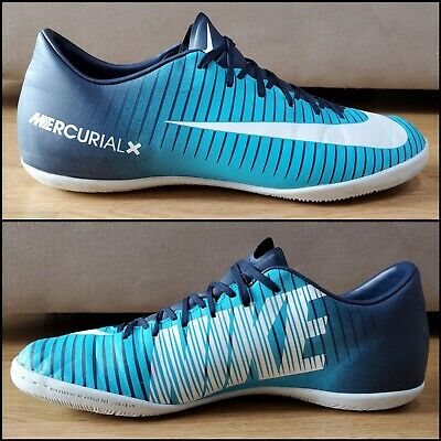 Nike Mercurial X Victory VI Indoor Soccer Shoes 831966-404 Mens Size 9.5 Futbol