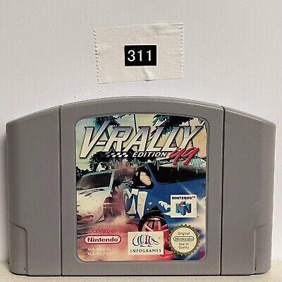 V Rally Edition 99 Nintendo 64 N64 Game Cartridge PAL oz311