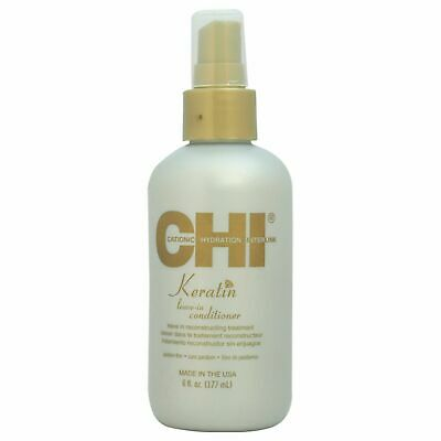 Keratin Leave-In Conditioner by CHI for Unisex - 6 oz Condit