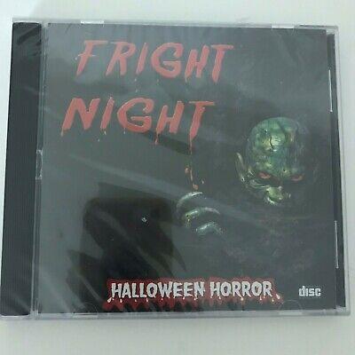NEW Fright Night CD Halloween Horror Audio Graveyard Haunted House Tour Scary ](Halloween Fright Night Cd)