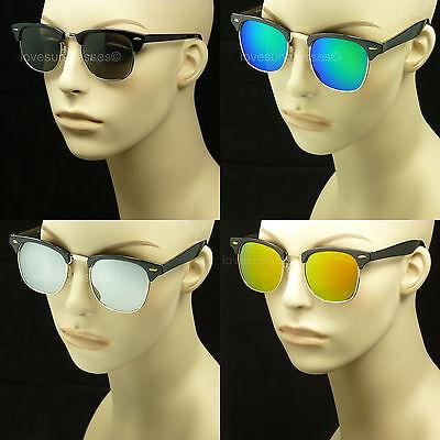 Unisex Style Sunglasses (SUNGLASSES RETRO VINTAGE STYLE NEW MEN WOMEN HIPSTER UV 50S 60S UNISEX FRAME )