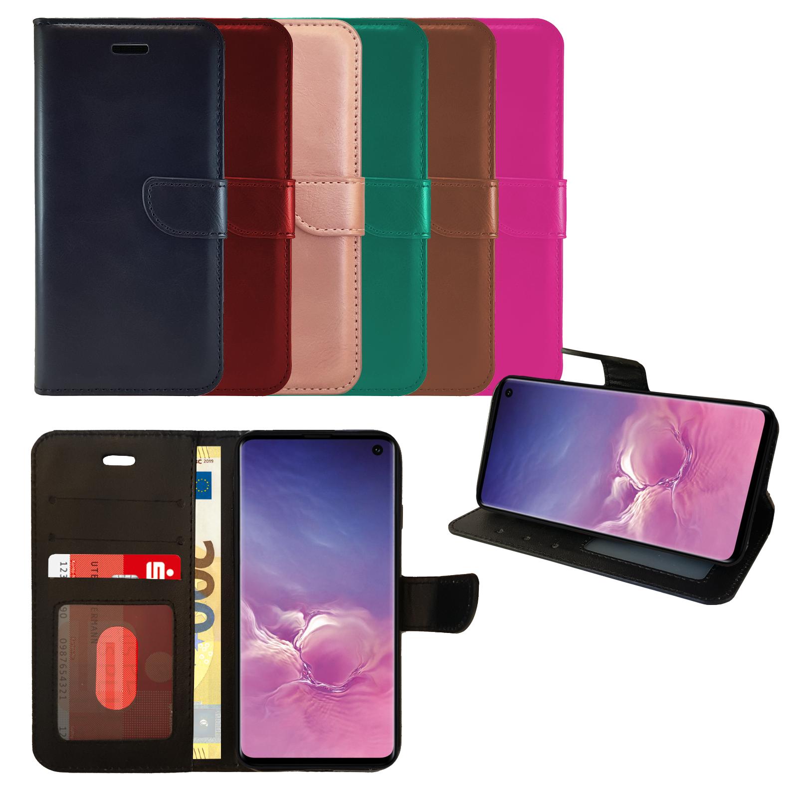 PREMIUM Samsung Handy Tasche Schutz Hülle Book Case Flip Cover Handytasche Etui