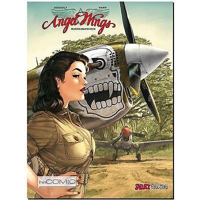 Angel Wings 1 Burma Banshees Pinup Girl Comic Fliegerstaffel Romain Hugault LP