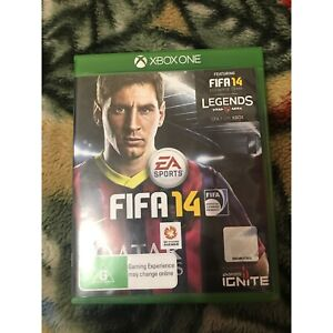 PERFECT CONDITION FIFA 14 XBOX Prairiewood Fairfield Area Preview