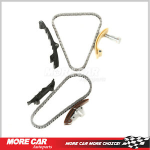 Timing Chain Kit w/ Upper-Single Row Chain Fit 99-02 Volkswagen Golf VR6 AFP 2.8