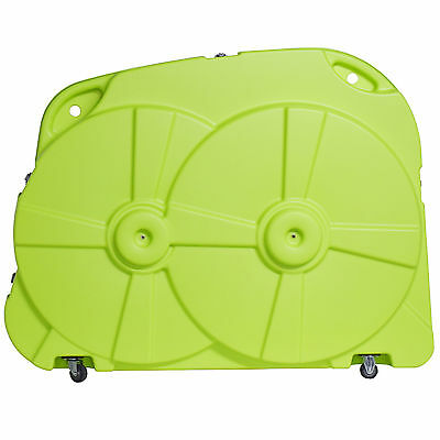 BIKE BOX HARD CASE GREEN CYCLE TRANSPORT QUALITY AIRPORT CYCLE TRAVEL LUGGAGE