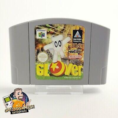 "Nintendo 64 Spiel "" Glover "" N64 / PAL EUR-1 | Cartridge Modul"