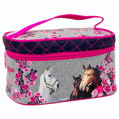Pferd Pony Einhorn Kosmetiktasche Kulturbeutel Kulturtasche Beauty case Tasche