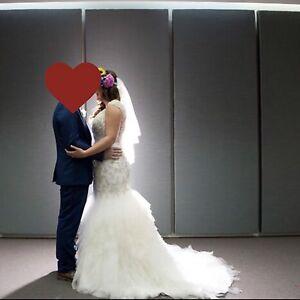 MORI LEE Designer Wedding Dress, Size 12 Bentleigh Glen Eira Area Preview