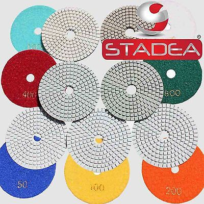 4 Wetdry Diamond Polishing Pad Granite Concrete Marble