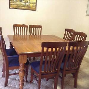 Square Dining Table and Chairs Armidale Armidale City Preview