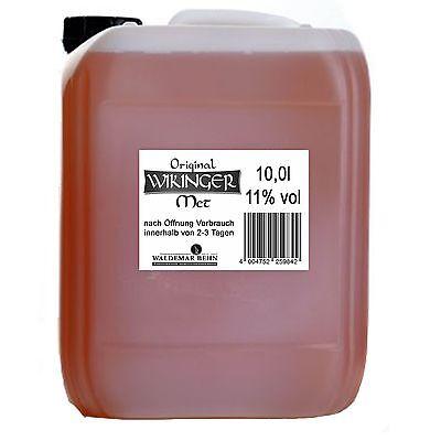 Original Wikinger Met 10l Kanister Honigwein 11% Heller Honig Wein