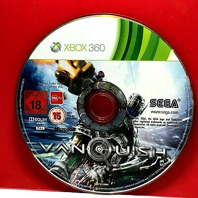 Vanquish (XBOX 360) PAL DISC ONLY 22078 for sale  Shipping to India