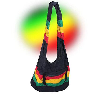 Rasta Rastafari Jamaica Baja Shoulder Bag Reggae Marley Negril Boho Hippie (Reggae Bag)