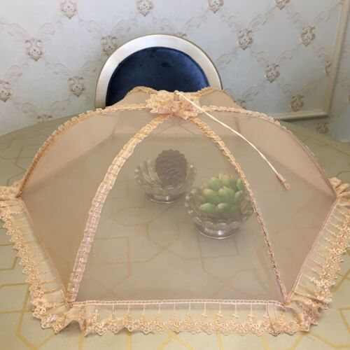 US Collapsible Pop-up Food Cover Mesh Tent Umbrella Dome for