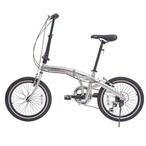 "20"" Folding Front Suspension Mountain Bike Shimano 6 Speed S"